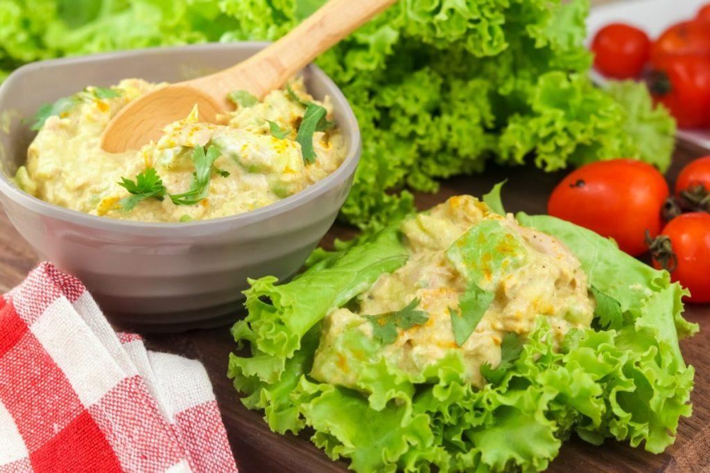 Keto Tuna and Avocado Salad 3