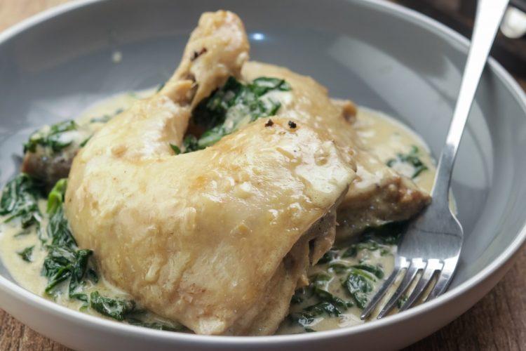 Keto Chicken Florentine