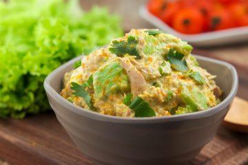 Keto Tuna and Avocado Salad