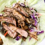 Slow Cooked Pulled Pork Lettuce Wraps