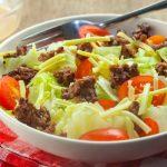 Keto Cheeseburger Salad