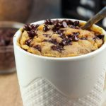 Keto Chocolate Peanut Butter Mug Cake